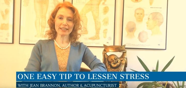 One Easy Tip To Lessen Stress